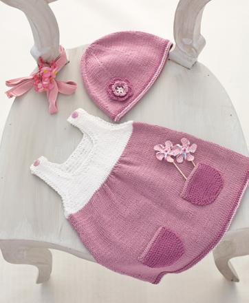 tricot bébé fille