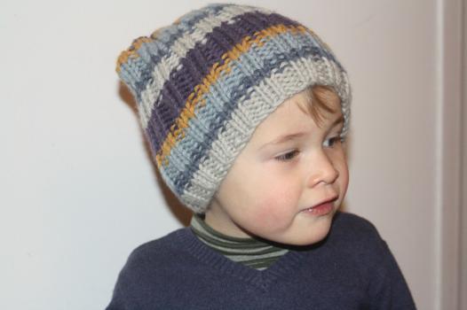 tricot bonnet garcon