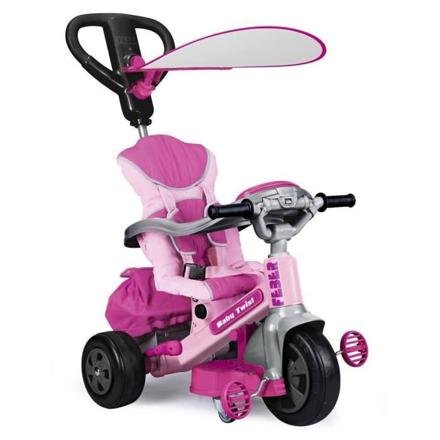 tricycle evolutif rose