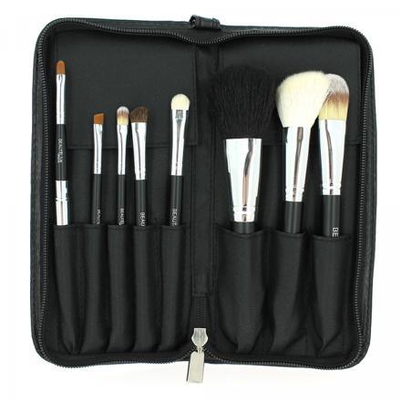 trousse de pinceaux maquillage professionnel