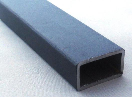tube acier noir rectangulaire