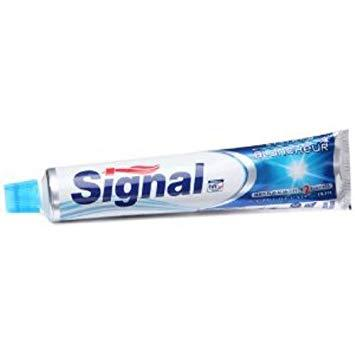 tube dentifrice signal