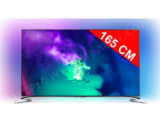 tv philips 4k 55 pouces