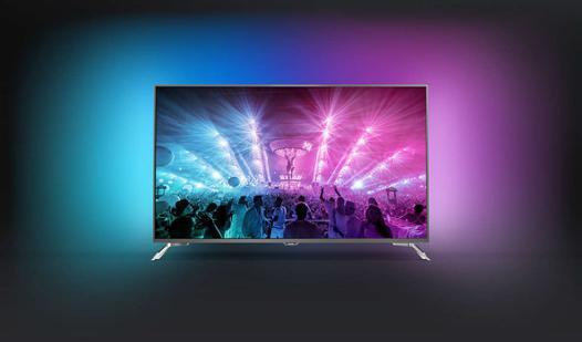 tv philips 4k ambilight