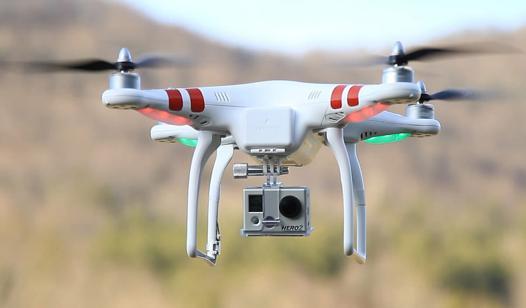 un drone pour filmer