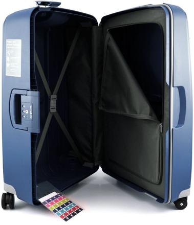 valise sans fermeture