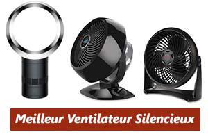 ventilateur chambre ultra silencieux