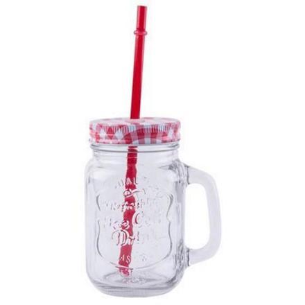 verre à smoothie avec paille