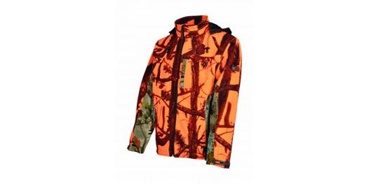 veste de chasse percussion softshell