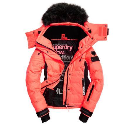 veste de ski superdry femme
