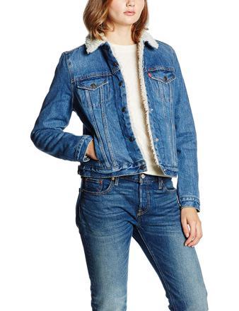 veste en jean levis femme