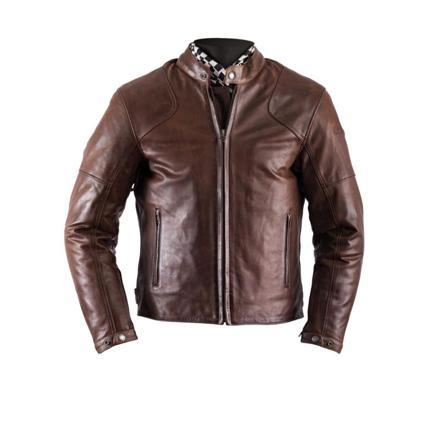 veste moto cuir vintage