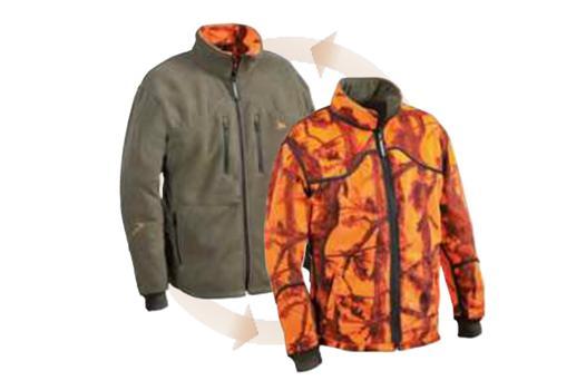 veste polaire de chasse