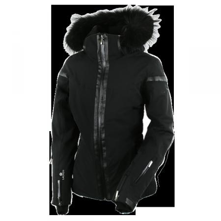 veste ski femme fourrure