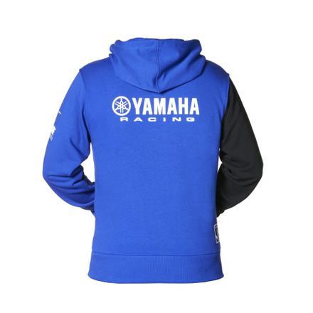 veste yamaha bleu
