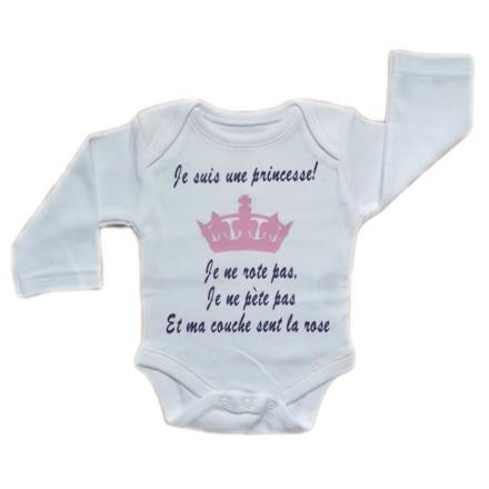 vetement bebe fille princesse