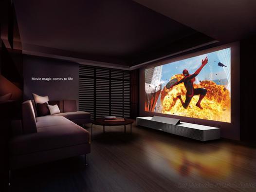 videoprojecteur ou tv 4k