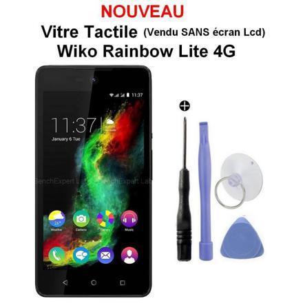 vitre pour wiko rainbow 4g