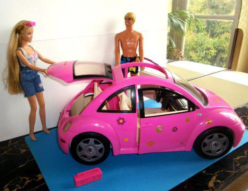 voiture barbie coccinelle