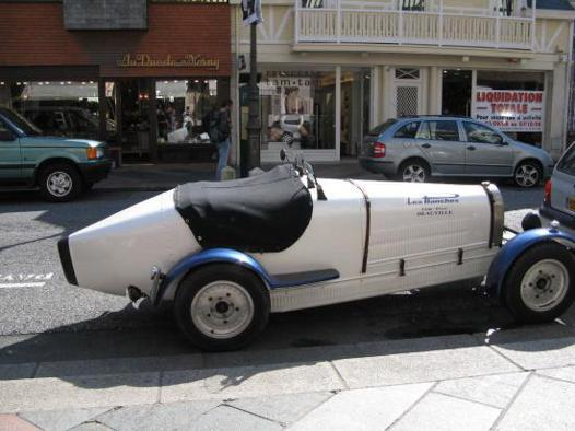 voiture cigare