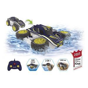 voiture télécommandée qui va sur l'eau