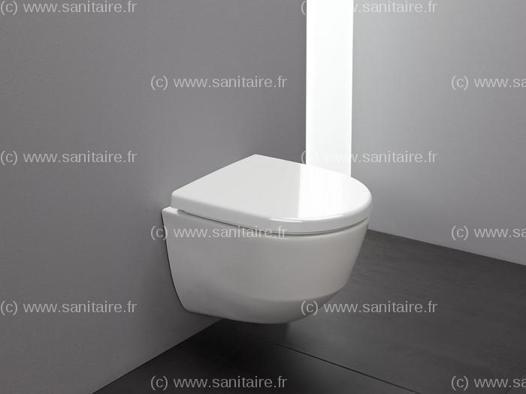 wc suspendu compact sans bride