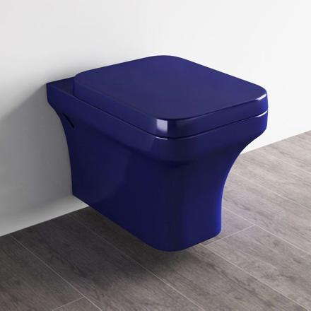 wc suspendu couleur
