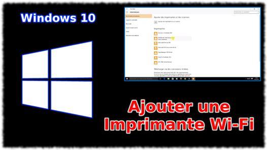 windows 10 imprimante hp