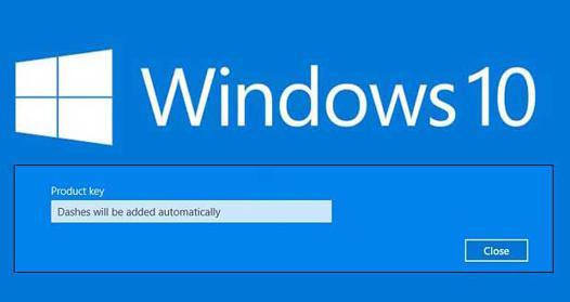 windows 10 pro cle