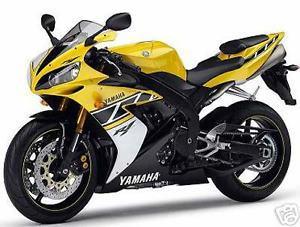 yamaha jaune et noir