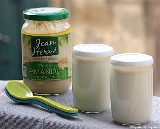 yaourt au lait d'amande